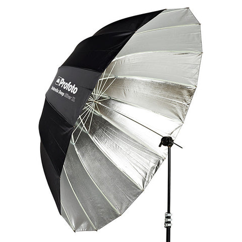 "Profoto Umbrella Deep Silver XL (165cm/65""""), lighting umbrellas, Profoto - Pictureline"