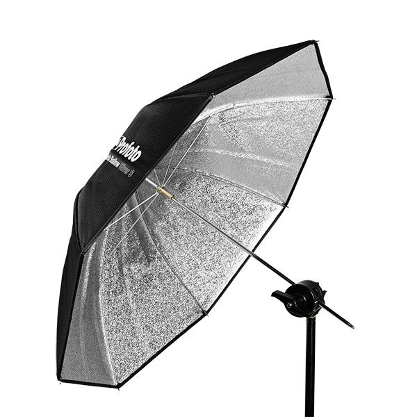 "Profoto Umbrella Shallow Silver S (85cm/33""""), lighting umbrellas, Profoto - Pictureline"