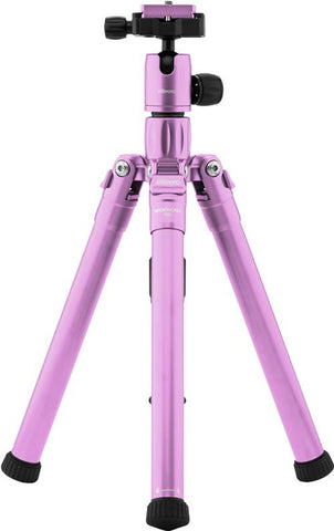 MeFOTO BackPacker Air Tripod Kit (Purple), tripods travel & compact, MeFOTO - Pictureline  - 1