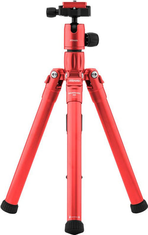 MeFOTO BackPacker Air Tripod Kit (Red), tripods travel & compact, MeFOTO - Pictureline  - 1