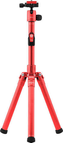 MeFOTO RoadTrip Air Travel Tripod Kit (Red), tripods travel & compact, MeFOTO - Pictureline  - 1