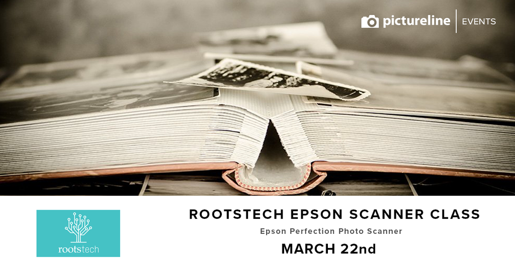Rootstech / Epson Scanner Class (March 22nd, Thursday)