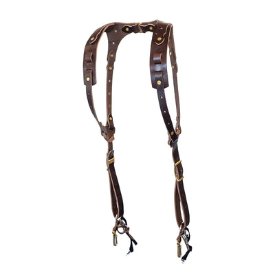 Rose Anvil Drifter Camera Harness (Dark Brown)
