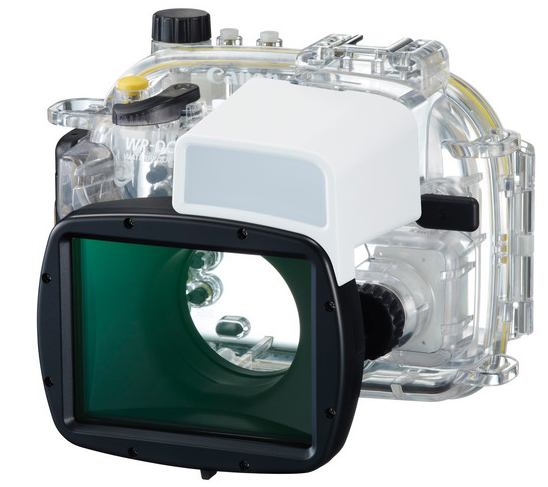 Canon Waterproof Case WP-DC53 (G1 X Mark II), camera weatherproofing, Canon - Pictureline