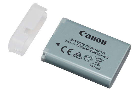 Canon NB-12L Battery Pack, camera batteries & chargers, Canon - Pictureline