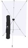 Westcott X-Drop Kit (5' X 7' Eminence Backdrop), lighting backgrounds & supports, Westcott - Pictureline  - 2
