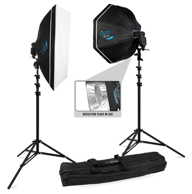 Westcott Rapid Box 2-Light Speedlite Kit, lighting soft boxes, Westcott - Pictureline  - 1