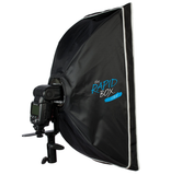 Westcott Rapid Box 2-Light Speedlite Kit, lighting soft boxes, Westcott - Pictureline  - 3