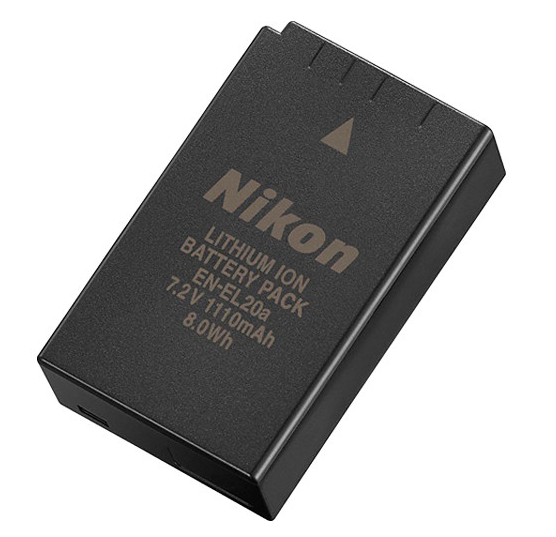 Nikon EN-EL20a Rechargeable Battery, camera batteries & chargers, Nikon - Pictureline