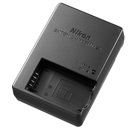 Nikon MH-29 Battery Charger (EN-EL20a), camera batteries & chargers, Nikon - Pictureline