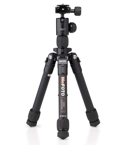 MeFOTO DayTrip Tripod Kit (Black), tripods travel & compact, MeFOTO - Pictureline  - 1