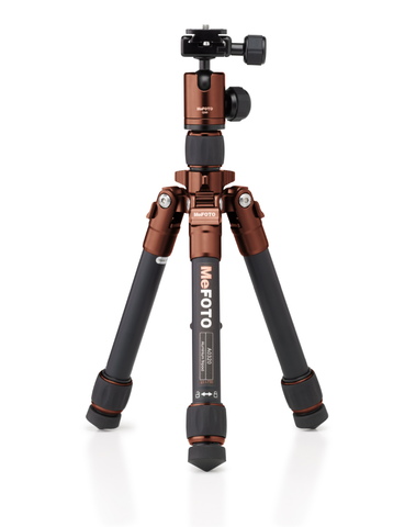 MeFOTO DayTrip Tripod Kit (Chocolate), tripods travel & compact, MeFOTO - Pictureline  - 1