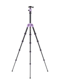MeFOTO BackPacker Tripod Kit (Purple), tripods travel & compact, MeFOTO - Pictureline  - 2