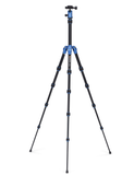 MeFOTO BackPacker Tripod Kit (Blue), tripods travel & compact, MeFOTO - Pictureline  - 2