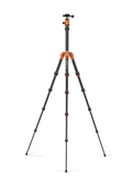 MeFOTO BackPacker Tripod Kit (Orange), tripods travel & compact, MeFOTO - Pictureline  - 2