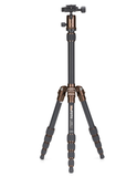 MeFOTO BackPacker Tripod Kit (Chocolate), tripods travel & compact, MeFOTO - Pictureline  - 1