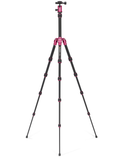 MeFOTO BackPacker Tripod Kit (Hot Pink), tripods travel & compact, MeFOTO - Pictureline  - 2