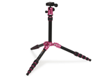 MeFOTO BackPacker Tripod Kit (Hot Pink), tripods travel & compact, MeFOTO - Pictureline  - 3