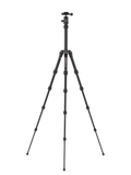 MeFOTO BackPacker Tripod Kit (Black), tripods travel & compact, MeFOTO - Pictureline  - 2