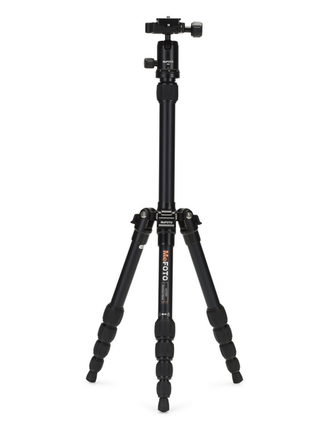 MeFOTO BackPacker Tripod Kit (Black), tripods travel & compact, MeFOTO - Pictureline  - 1