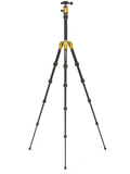 MeFOTO BackPacker Tripod Kit (Yellow), tripods travel & compact, MeFOTO - Pictureline  - 2