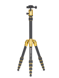 MeFOTO BackPacker Tripod Kit (Yellow), tripods travel & compact, MeFOTO - Pictureline  - 1