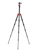 MeFOTO BackPacker Tripod Kit (Red), tripods travel & compact, MeFOTO - Pictureline  - 2