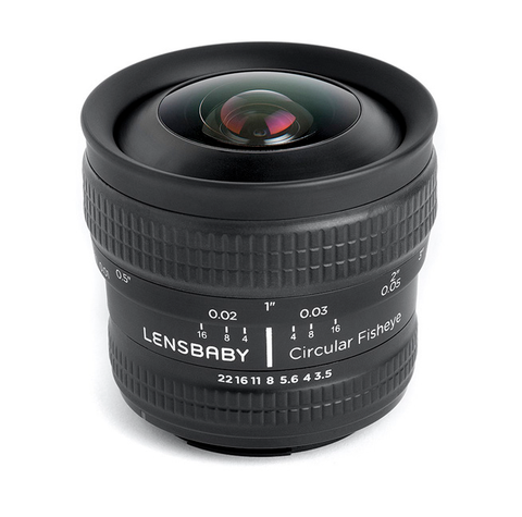 Lensbaby Circular Fisheye for Nikon, lenses optics & accessories, Lensbabies - Pictureline  - 1