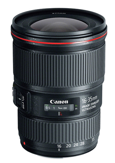 Canon EF 16-35mm f/4L IS USM Lens, lenses slr lenses, Canon - Pictureline  - 1