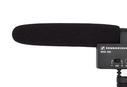 Sennheiser Windscreen for MKE400, video audio microphones & recorders, Sennheiser - Pictureline