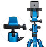 MeFOTO SideKick360 SmartPhone Adapter (Blue), tripods other heads, MeFOTO - Pictureline  - 2