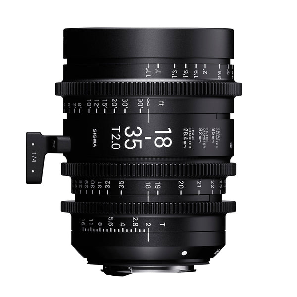 Sigma 18-35mm T2 Cine Lens for Canon
