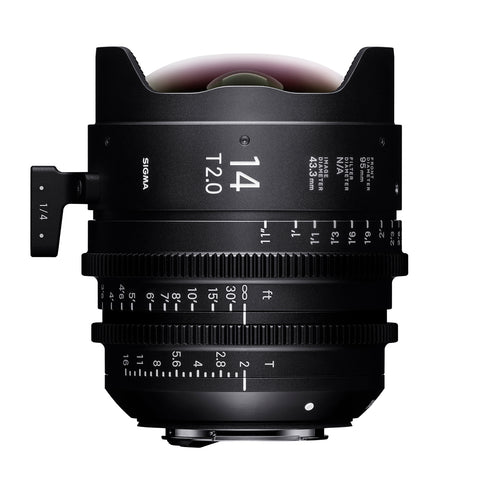 Sigma 14mm T2 Cine Lens for Canon