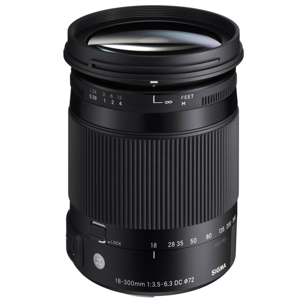 Sigma 18-300mm F3.5-6.3 Contemporary DC Macro OS HSM Lens for Canon