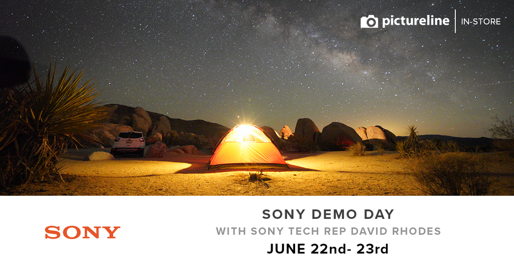 Sony In-Store Demo Day with Sony Technical Rep David Rhodes (June 22-23, Fri-Sat)