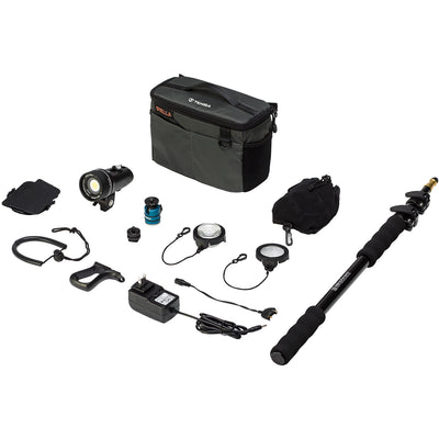 Light and Motion Stella 1000 SP LED 1-Light Action Kit with Accessories, lighting led lights, Light & Motion - Pictureline