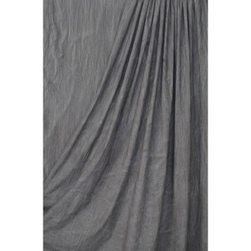Superior Steel Grey Muslin 10'x24', lighting backgrounds & supports, Superior - Pictureline