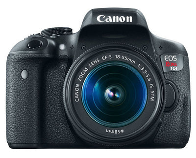 Canon EOS Rebel T6i 18-55 STM Camera Kit, camera dslr cameras, Canon - Pictureline  - 1