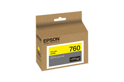 Epson T760420 P600 Yellow Ink Cartridge (760), printers ink small format, Epson - Pictureline