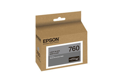 Epson T760720 P600 Light Black Ink Cartridge (760), printers ink small format, Epson - Pictureline