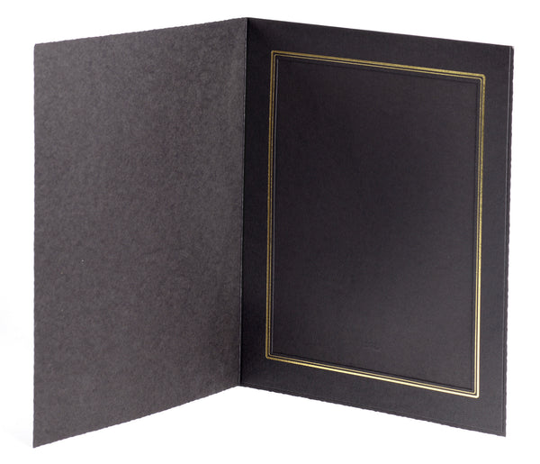 Tap Cal Ebony 8x10 Photo Folder, papers photo display, TAP - Pictureline