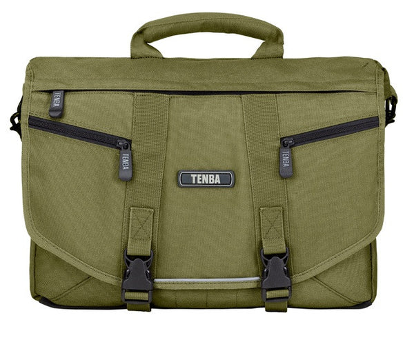 Tenba Small Camera/Laptop Messenger Bag (Olive), discontinued, Tenba - Pictureline  - 1
