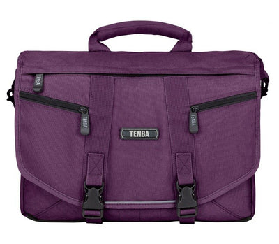 Tenba Mini Camera/Laptop Messenger Bag (Plum), discontinued, Tenba - Pictureline  - 1