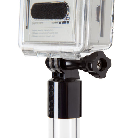 GoPole Aluminum Thumbscrew Black, video gopro mounts, GoPole - Pictureline  - 1