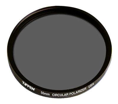 Tiffen 55mm Circular Polarizer Filter, lenses filters polarizer, Tiffen - Pictureline