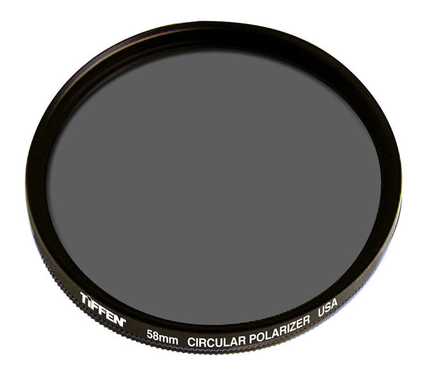 Tiffen 58mm Circular Polarizer Filter, lenses filters polarizer, Tiffen - Pictureline