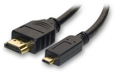 "Universal Cable Mini-HDMI to HDMI 18"""", computers cables & adapters, Universal Systems - Pictureline"