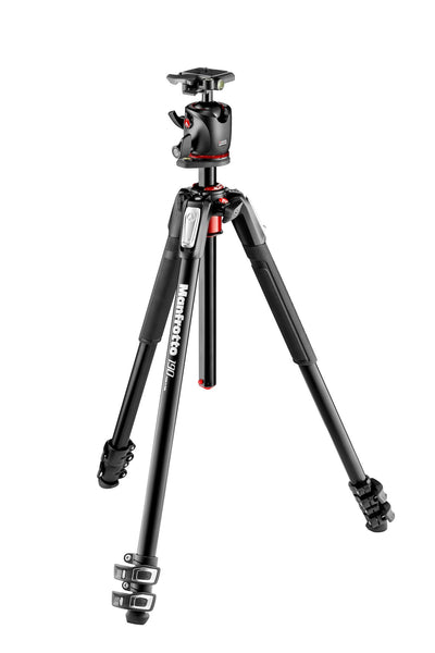 Manfrotto MK190 XPRO3 with MHXPRO-BHQ2 Ball Head, tripods photo tripods, Manfrotto - Pictureline