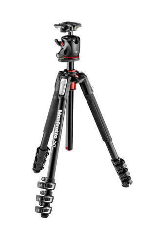 Manfrotto MK190XPRO4-BHQ2 Aluminum Tripod w/ Ball Head, tripods photo tripods, Manfrotto - Pictureline