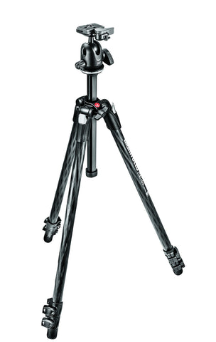 Manfrotto MK290XTC3-BHUS Carbon Fiber Tripod w/Ball Head, tripods photo tripods, Manfrotto - Pictureline  - 1